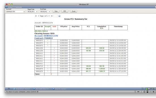 DAX 05/09/12 с 10-00 до 11-30