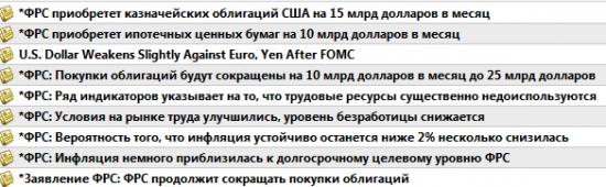 ФРС Заява