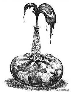 Нефть упала на избыточных запасах