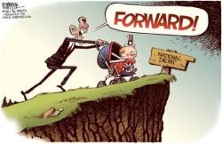 Америка вновь увидит «двойное дно» рецессии