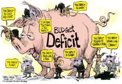 Дефицит бюджета США вырос на $60 млрд