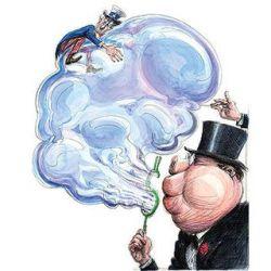 Гарри Дент про сдувание гигантского американского «пузыря»