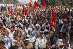 Индийский народ бастует против реформ