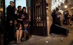Испанский народ в ярости