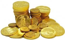 Продажи золотых монет ослабли — инвесторы переключились на акции