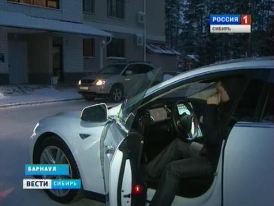 Tesla в Сибири
