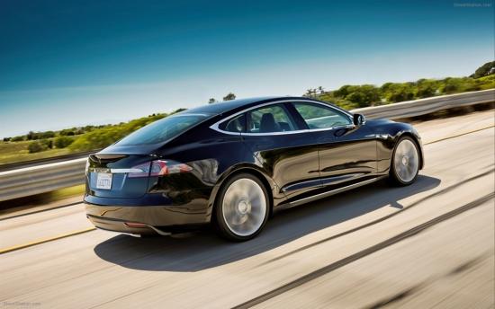 Суперавтомобили: Тесла Model S
