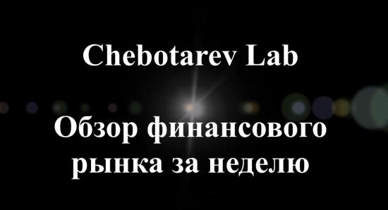 Chebotarev Lab - Обзор финансового рынка и результаты биржевых операций за неделю, 22.08.2015