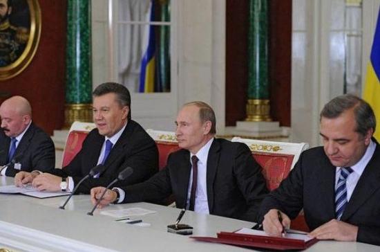 Россия щедрая душа ! Как замутили Путин с Януковичем?