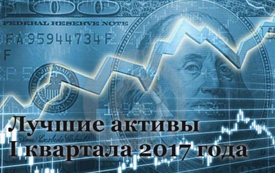 Лучшие активы первого квартала 2017 года