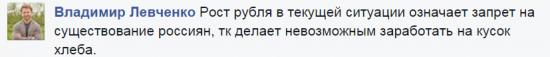 Владимир Левченко - рубль будет падать многие месяцы а может и годы