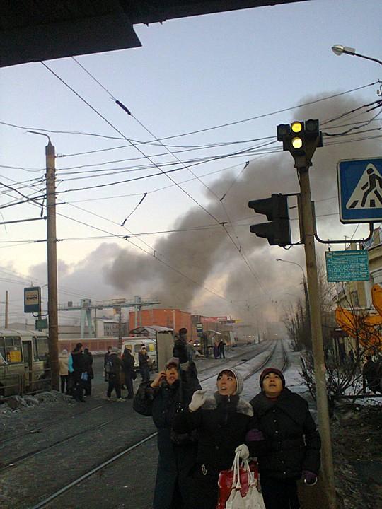 ВИДЕО _ Метеоритный дождь прошел над Челябинской областью, подтвердили в МЧС
