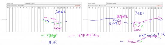 Вечерний обзор рынка акций и фьючерсов, правильные стратегии по 1.02.2013
