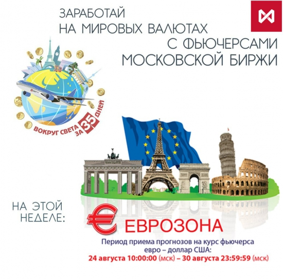 Конкурс прогнозов «вокруг света за 35 дней!». Курс на Европу!