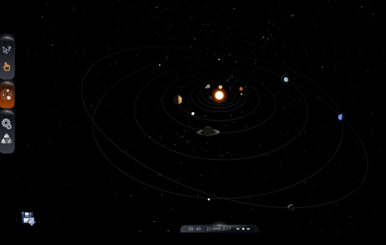 Карта звездного неба - 3D