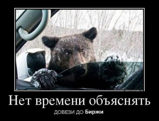 Медведи не опоздайте!!!!!