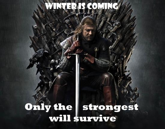 Зима близко!