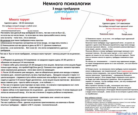 Для читателей моего блога выкладываю немного Психологии ))))