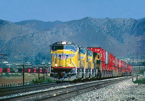 Пара транспортных компаний США.