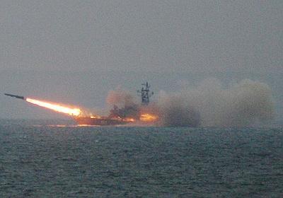 База ВВС Сирии уничтожена ракетами с моря.