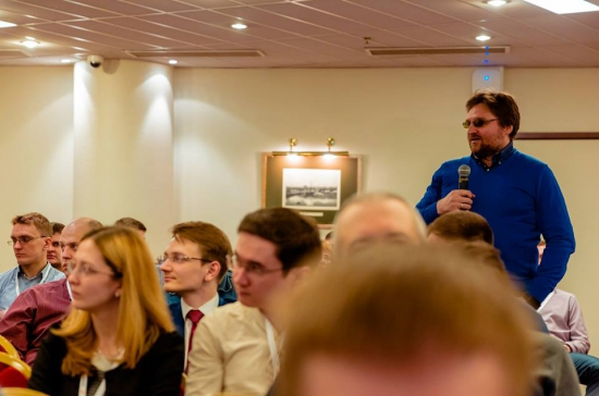 Фото с конференции. Совпадения случайны.