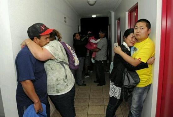 Крупное землятрясение у берегов Чили 8.2 баллов