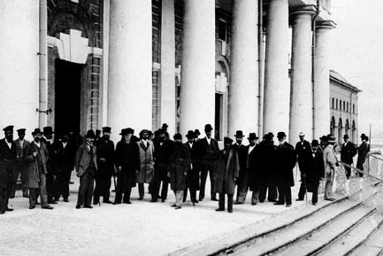 Группа членов совета Фондовой биржи, 1903 год