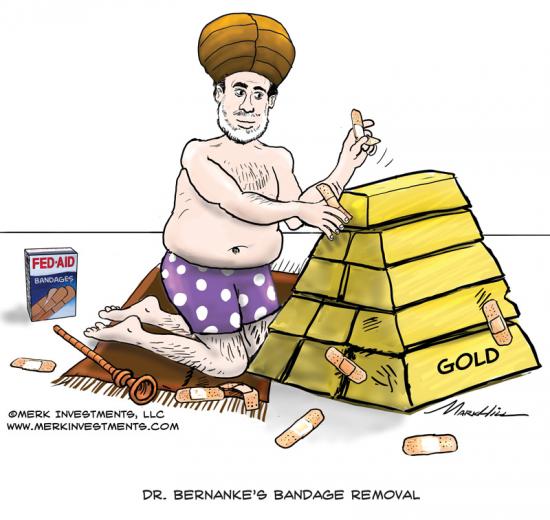 Золото ,ставки GOFO и Бернанке(юмор)