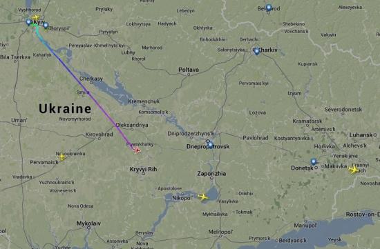 Побег Януковича он лайн