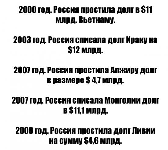 Россия - щедрая душа!