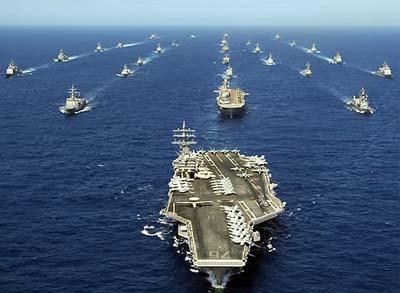 Как военная мощь США приносит выгоды Китаю