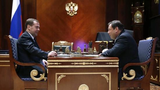 У АЛЬФА-БАНКА всё хорошо. Как Фридман с Медведевым встретились.