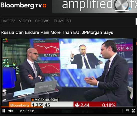 JP Morgan:  Россия ещё Кузькину мать не показала )))