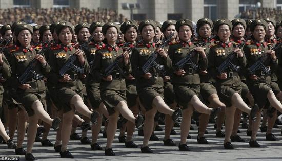 На пороге войны: Согласно сообщениям американских газет, Вашингтон готовится напасть на КНДР в ночь с 10 на 11 апреля