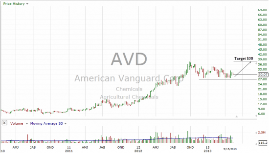Почему акции American Vanguard Corp. могут взлететь?