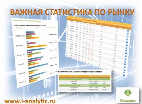 Статистика и аналитика - видеоролик про возможности и сервисы сайта для трейдеров