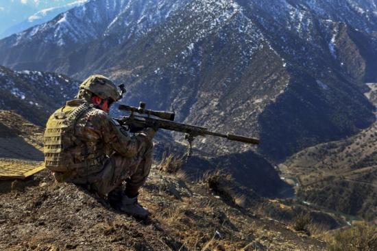 Сегодня я работал снайпером :)