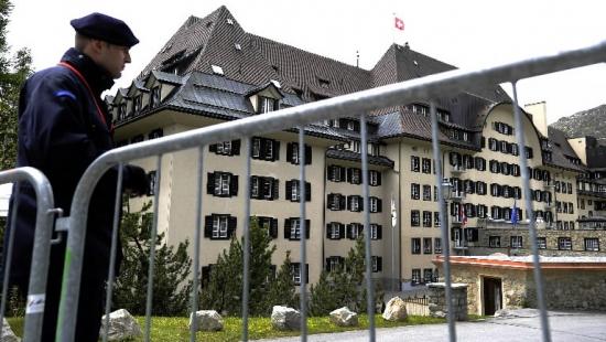 Отель Сувретта Хаус на швейцарском курорте Сент-Моритц, где проходила встреча группы в 2011 году