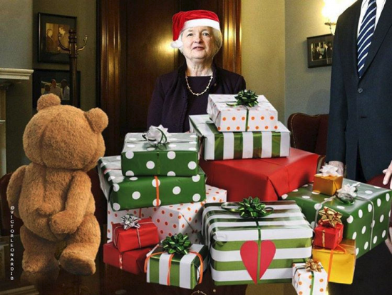 Рынки ждут от ФРС подарки в декабре. Обзор на предстоящую неделю от 08.11.2015