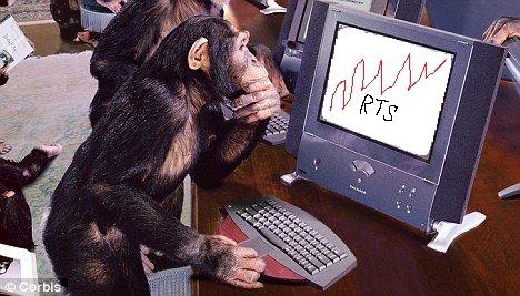 Приматы VS Человека...Трейдинг =)))