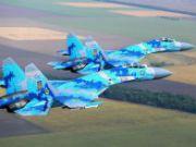 Украина начала грандиозные учения военной авиации и ПВО: 100 истребителей, 23 бомбардировщика, 36 штурмовиков, 60 дивизионов зенитно-ракетных комплексов.