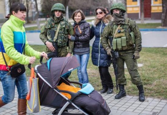 """Кровавая оккупация Крыма"""