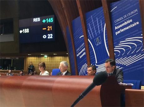 ПАСЕ лишила Россию права голоса и руководства в структурах Ассамблеи
