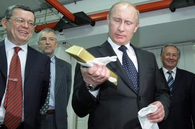 Почему Путин «запал» на золото?