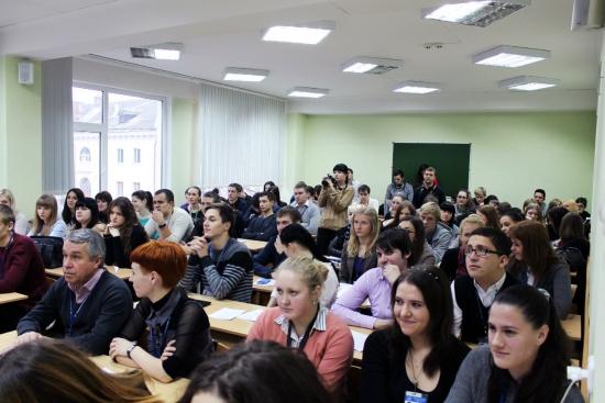Financier и United Traders в международном университете МИТСО!