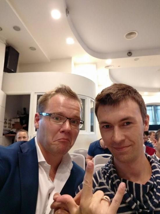 Анатолий Радченко был в Самаре :)