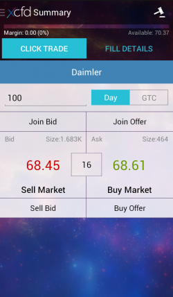 Мобильное приложение xCFD на Android