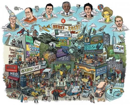 2013 год в Америке в картинках