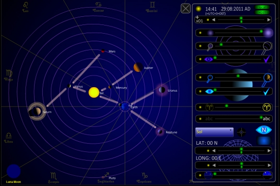 # --> Расширил исследование парада планет