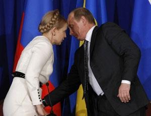 Кремль делает ставку на Тимошенко или Путин знает куда руку запустить ))